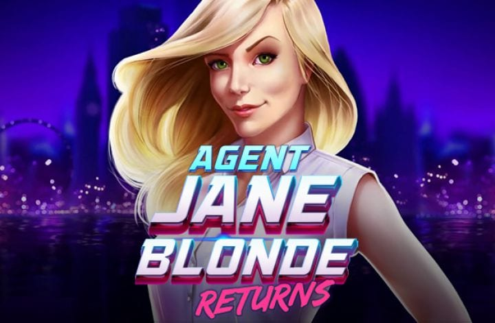 Agent jane Blonde Returns Slot Review