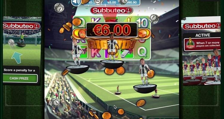 subbuteo slot game
