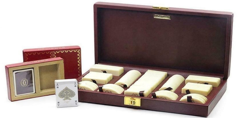 Vintage Cartier Poker Set