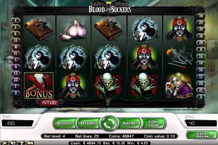 bloodsuckers slot rtp 98%