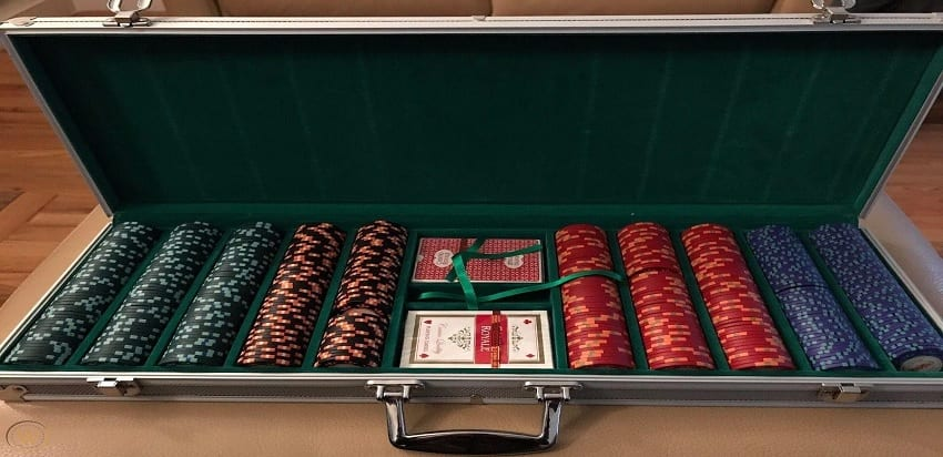 007 casino royale poker set