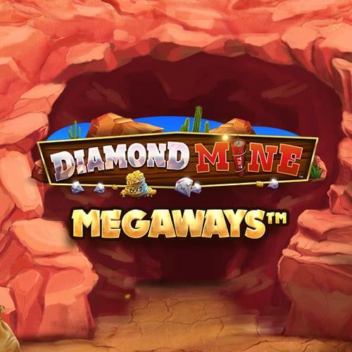 diamond mine megaways slot tile