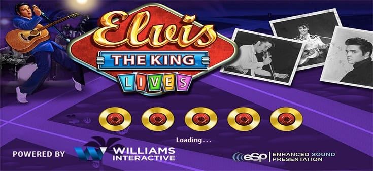 elvis lives music slot machine