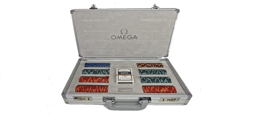 limited Edition Omega Poker Set