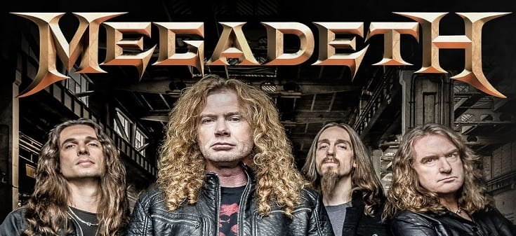 Megadeth music slot