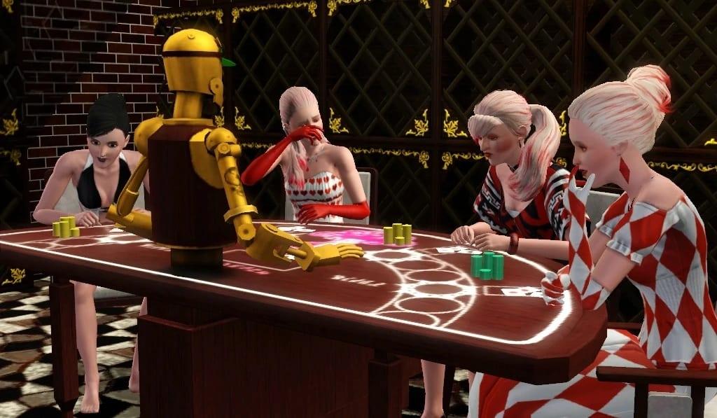 Sims 3 gambling minigame
