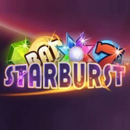 Starburst slot review logo