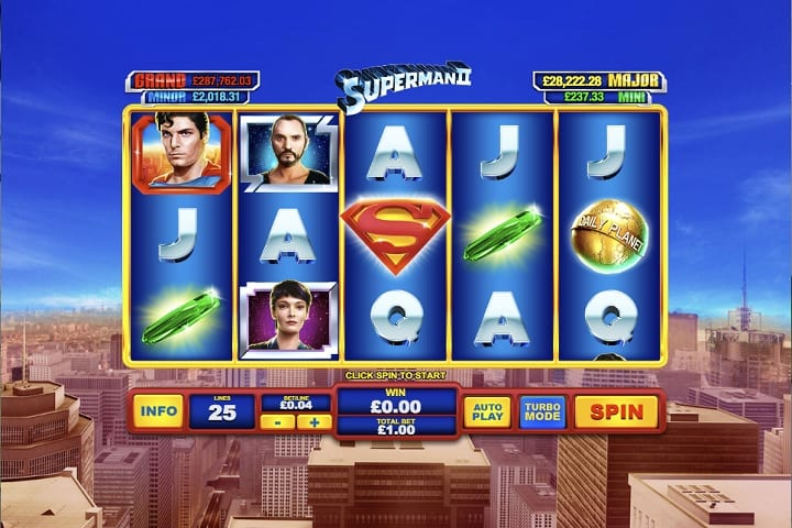 superman 2 slot